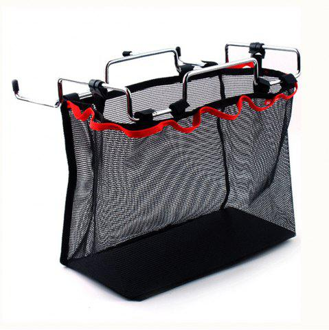 Discount Outdoor Camping Wire Rack Portable Storage Bag Picnic Table Barbecue Kit Kitchen Miscellaneous Net Set