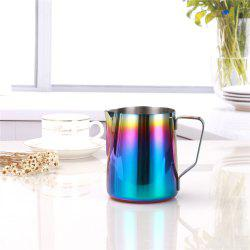 Multicolor Milk Frothing Jug Espresso Coffee Pitcher Barista Craft Coffee Latte Stainless Steel Espresso 600ML -