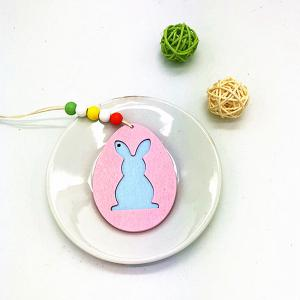 DIY Colorful Halloween Rabbit Pendant with A Variety of 6PCS -