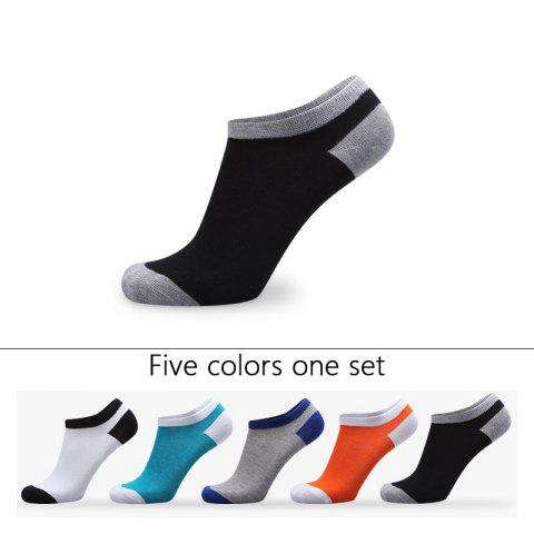 Shop Spell Color Elastic Knitting Socks B1664 - 5 Pairs