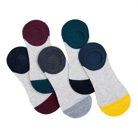 Outfit Spell Color Elastic Knitting Socks B2017121 - 5 Pairs