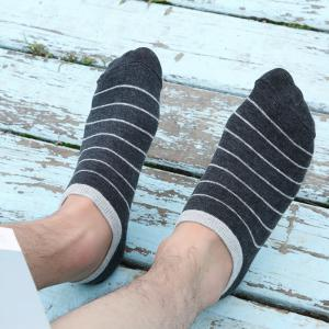 Stripe Graphic Elastic Knitting Socks B2017131 - 5 Pairs -