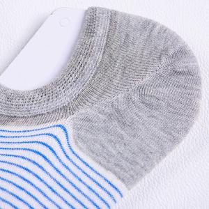 Stripe Graphic Elastic Knitting Socks B2017137 - 5 Pairs -