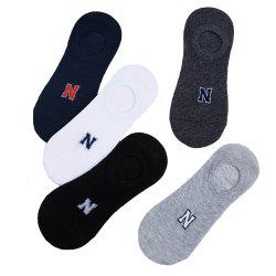 N Graphics Elastic Knitting Socks B2017161- 5 Pairs -