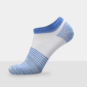 Spell Color Stripe Graphic Elastic Knitting Socks B2017205 - 5 Pairs -