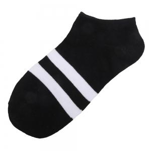 Stripe Graphic Elastic Knitting Socks B2017217 - 5 Pairs -