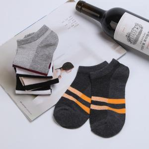 Stripe Graphic Elastic Knitting Socks B2017229 - 5 Pairs -