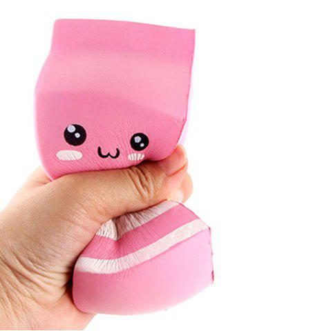 Squishies Rising Scented Slow Cheeki Rose Yogourt Bouteille Kawaii Squishy Jouets pour Enfants / Adultes