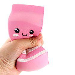 Squishies Rising Scented Slow Cheeki Rose Yogourt Bouteille Kawaii Squishy Jouets pour Enfants / Adultes -