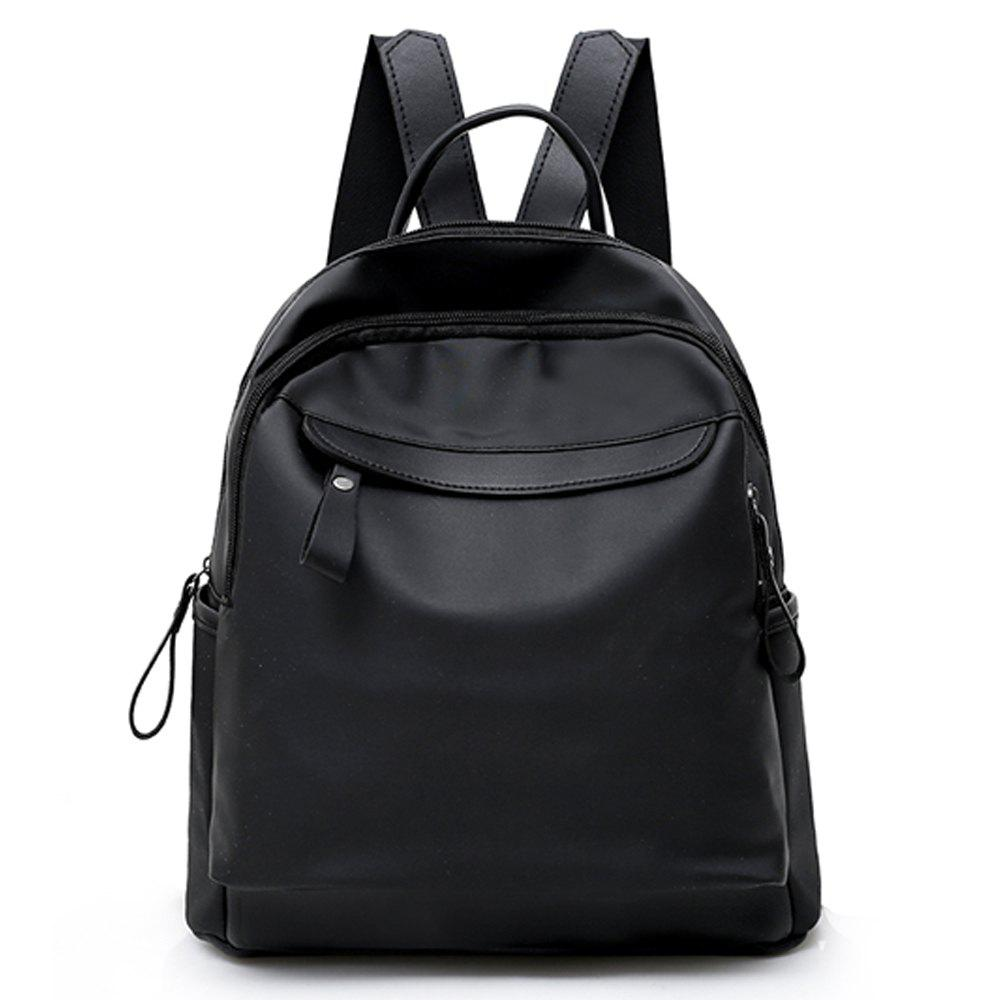 99bc344502 Cheap Women s Backpack Preppy Style Solid Color Brief Style All Match Top  Fashion Bag
