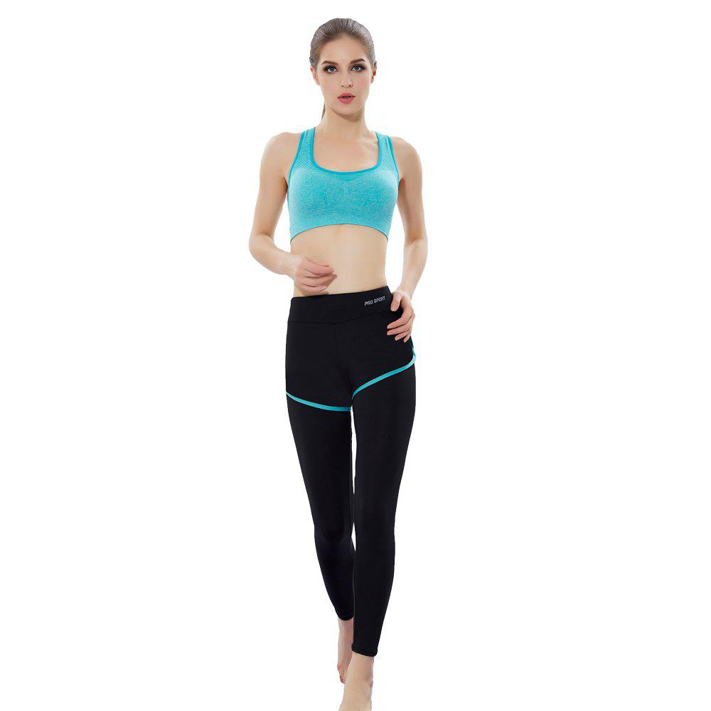 Shops Women'S Professional Running Fitness Yoga Pants No Steel Ring Vest Shockproof Sports Bra Suit