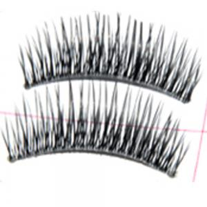 Mode Transparent Stems Faux Cils Fait à la Main 10 Paires Pack -