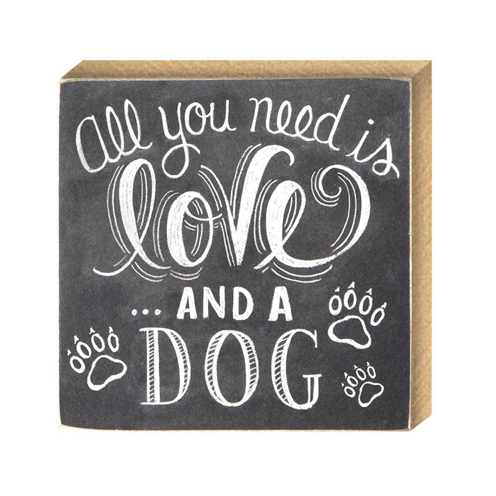 Affordable 141002 Printing Plate Love Creative Dog Pet DIY Home Furnishing European Decorative Ornaments (1 Pack)