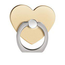 360 Degree Rotating Heart Shape Cell Phone Finger Ring Holder Stand -