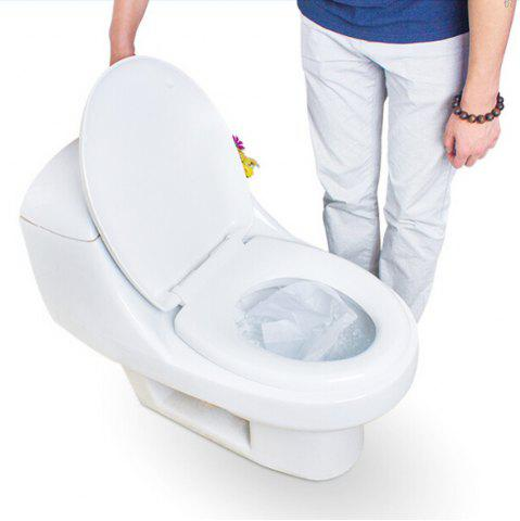 Trendy Travel Safety Plastic Disposable Toilet Seat Cover Waterproof 50PCS