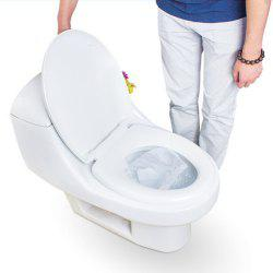 Travel Safety Plastic Disposable Toilet Seat Cover Waterproof 50PCS -