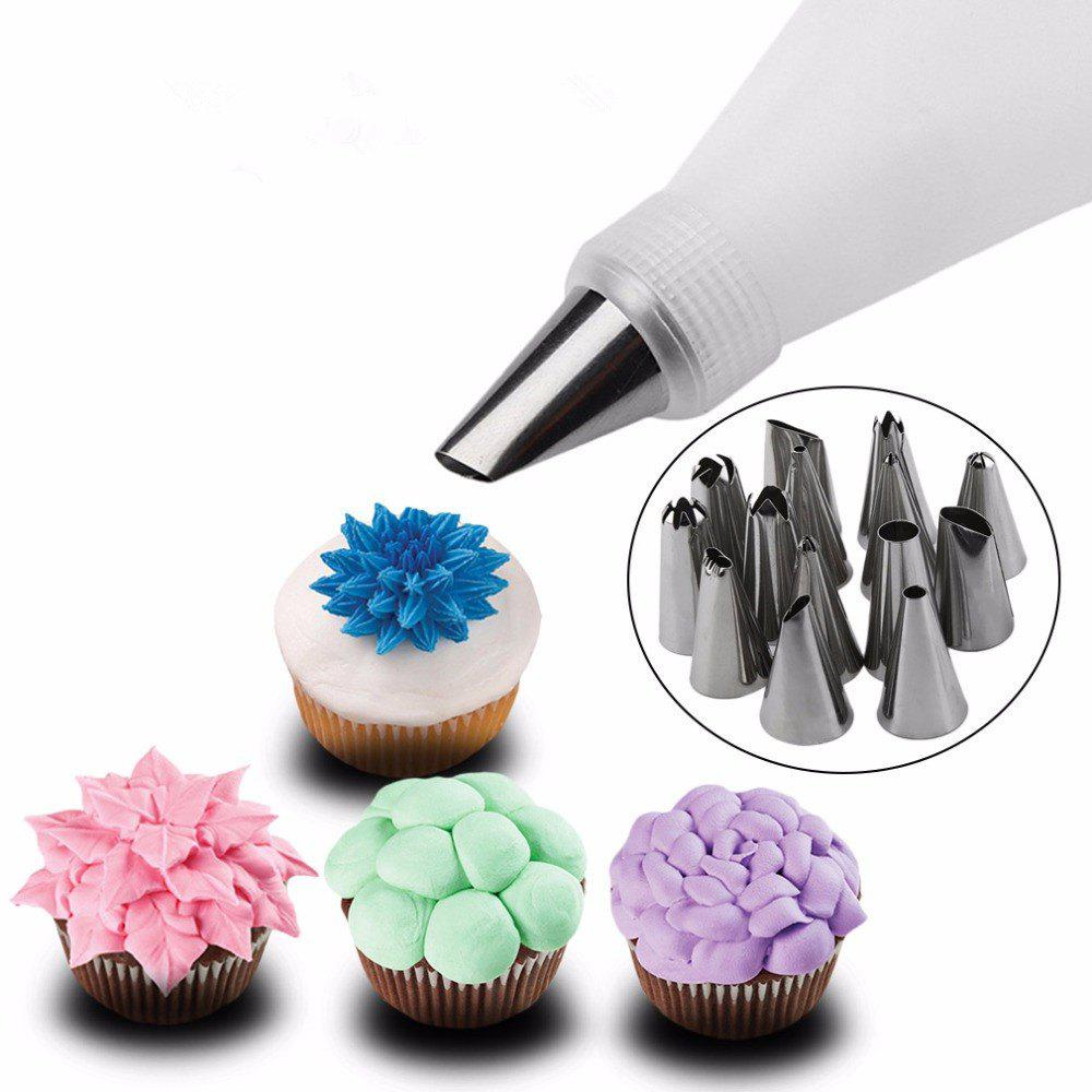 Kitchen Design Cake: 2019 Kitchen Accessories Icing Piping Cream Pastry Bag