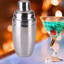 250ML Stainless Steel Cocktail Shaker Blender Wine Martini Drinking Boston Style Bar Party Tools -