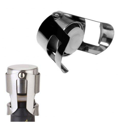 Affordable New Hot Stainless Steel Champagne Sparkling Wine Bottle Stopper Sealing Machine Bar Accessories Wine Stopper Accessories