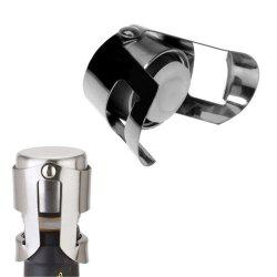 New Hot Stainless Steel Champagne Sparkling Wine Bottle Stopper Sealing Machine Bar Accessories Wine Stopper Accessories -
