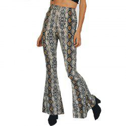 2018 Leggings en peau de serpent Bellbottoms -