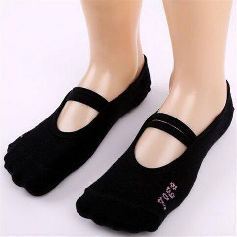 Trendy Women Breathable Pilates Yoga Non Slip Grip Cotton Ballet Dance Sport Massage Ankle Socks