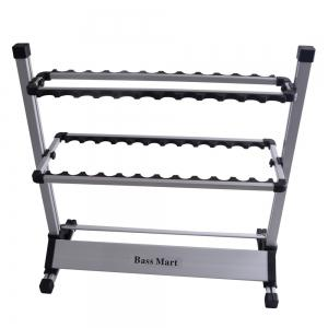 Fishing Rod Rack Up to 24 Cases -
