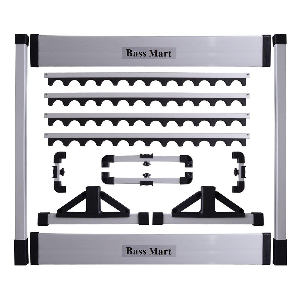 Store Fishing Rod Rack Up to 24 Cases