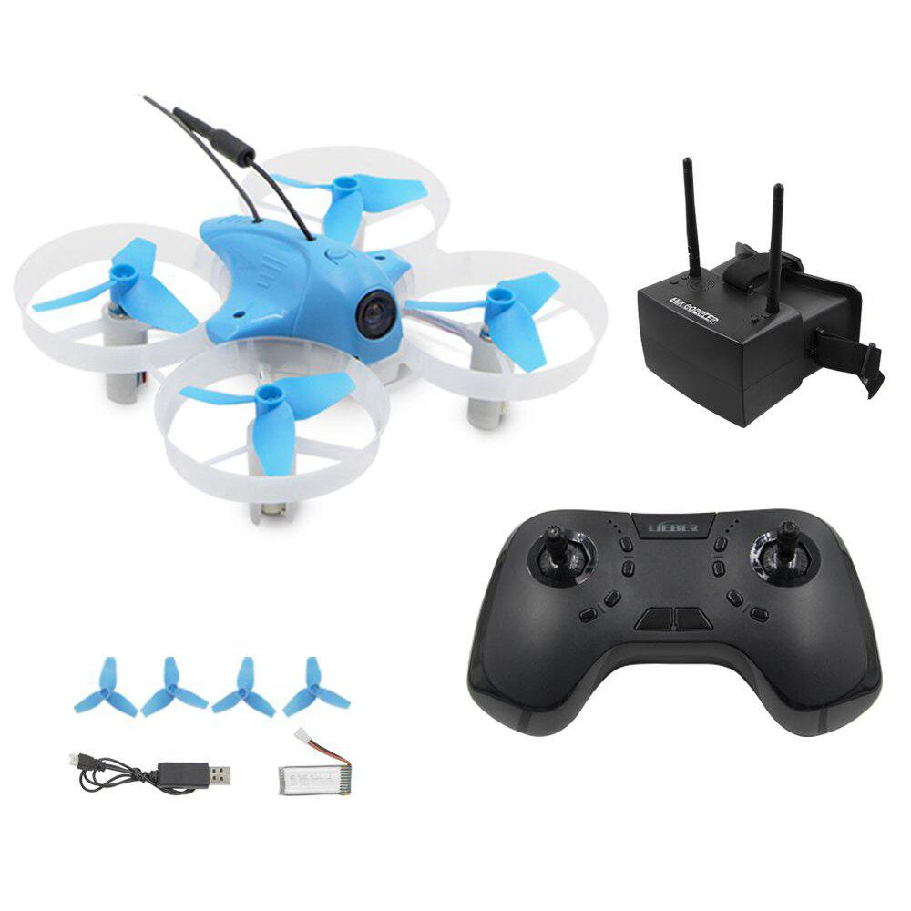 Outfits Lieber Zulu Mini RC Racing Drone 2.4GHz 8CH Remote Control 5.8GHz 48CH FPV Goggles