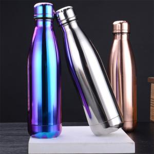 Fashion 4 Colors 500ML Stainless Steel Insulated Cup Coffee Tea Thermos Mug Thermal Bottle Thermocup Travel Drink Bottle -