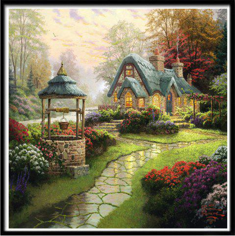 Latest NAIYUE 7029 Country People Print Draw 5D Diamond Painting Diamond Embroidery