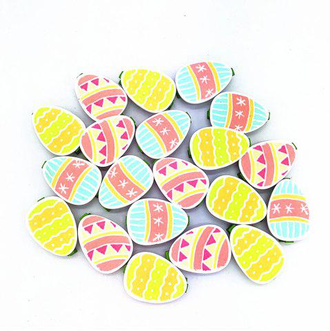 Cute Cute Colored Eggs Egg Clip 20pcs