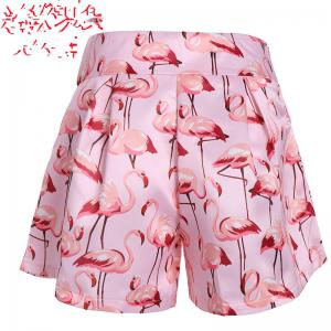2018 New Flamingo Printed Shorts -