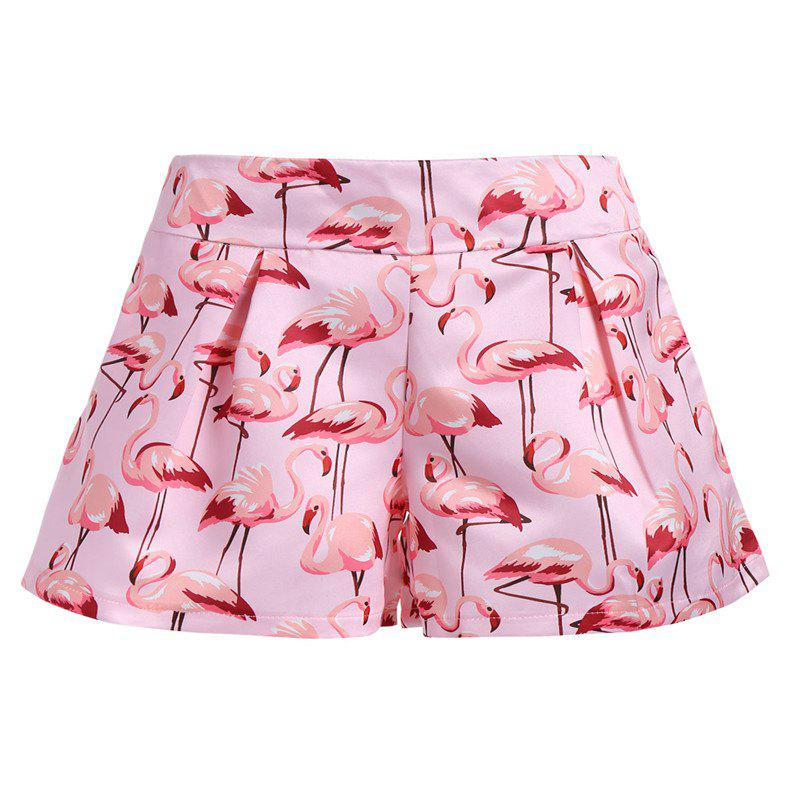 Shop 2018 New Flamingo Printed Shorts