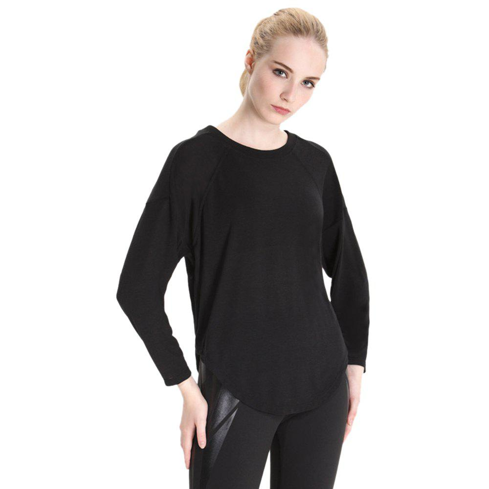 Outfit Essar Autumn and Winter Thin Leisure  Loose Collar Movement Long Sleeved  Sportswear