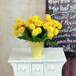Artificial Silk Flowers Bright Color Chrysanthemum Home Decor Simulation Flowers -