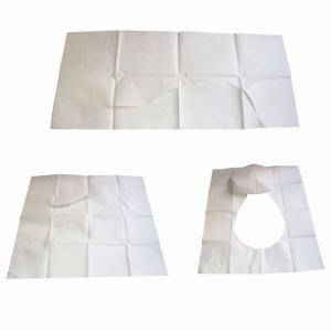 Pack Disposable Toilet Seat Cover Mat Waterproof Toilet Paper Pad For Travel/Camping Bathroom 10PCS -