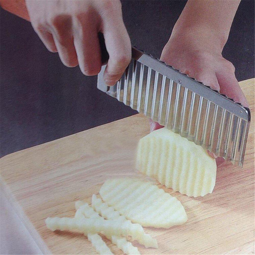 Shop Potato Wavy Edged Stainless Steel Knife