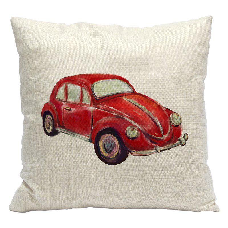 Trendy Simple and Stylish Car 3D Printing Cotton Pillowcase Office Sofa Cushion Cushions By The Lumbar
