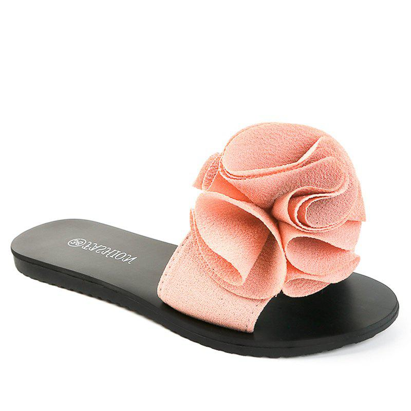 Buy Slippers with Flat Bottom and Antiskid Flowers