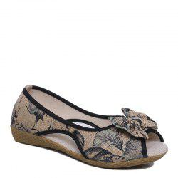 Comfortable Soft Sole Breathable Fish Mouth Female Sandals -