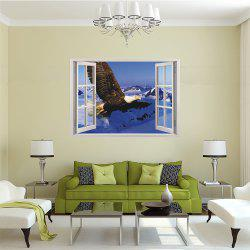 Creative 3D Window Aoxiang Eagle Living Room Bedroom Background Wall Stickers -