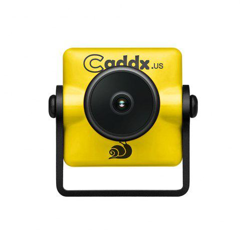 Discount Caddx Micro Turbo S1 2.1 / 2.3MM 600TVL 4:3 1/3 CCD NTSC / PAL IR Block Low Latency FPV Camera for Racing Drones