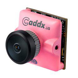 Caddx Micro Turbo S1 2.1 / 2.3MM 600TVL 4:3 1/3 CCD NTSC / PAL IR Block Low Latency FPV Camera for Racing Drones -