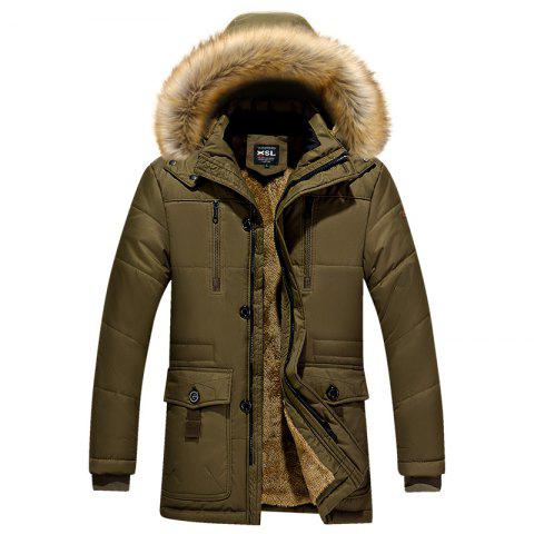 Outfits Men's Fashion Warm Coat
