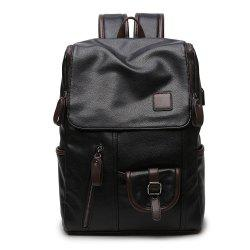 Men'S College Wind Multi-Pocket Backpack