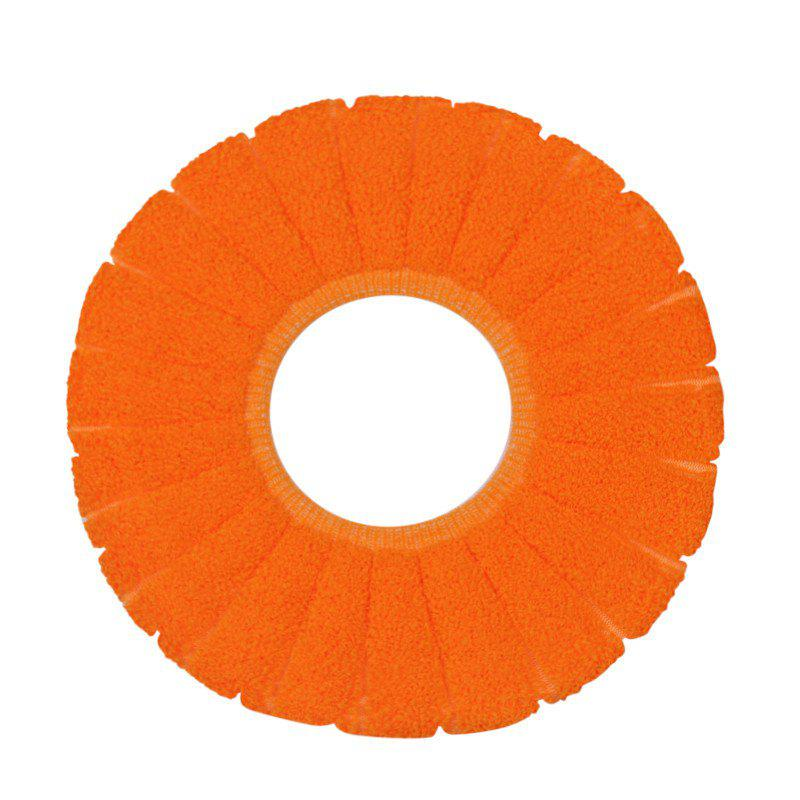 Sale O-Shape Toilet Seats Warm Thick Knitted Pumpkin Pattern Toilet Seat Cushion Diameter