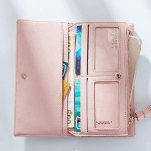 Women Wallets Big Capacity Ladies Clutch Female Fashion Leather Bags ID Card Holders Cell Phone Cash Purses -