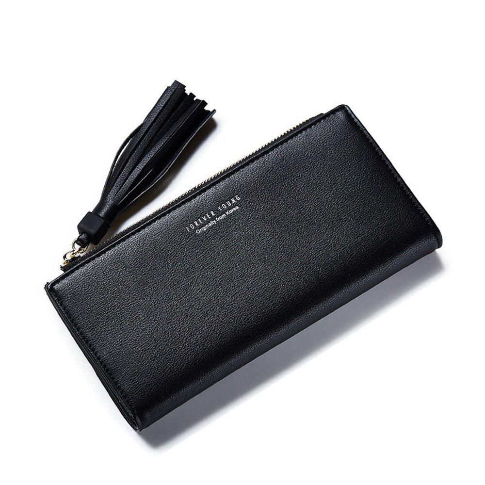 Online Women Wallets Big Capacity Ladies Clutch Female Fashion Leather Bags ID Card Holders Cell Phone Cash Purses