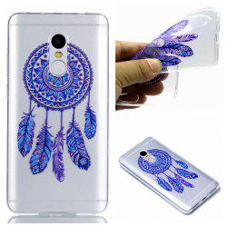 TPU Case for Xiaomi Redmi Note 4 / Note 4X Blue Bells Pattern -